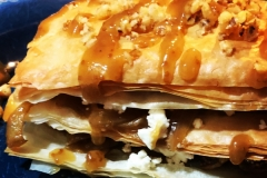 Goat Cheese and Fig Baklava